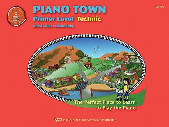 MP120 01.Piano Town Primer Technic