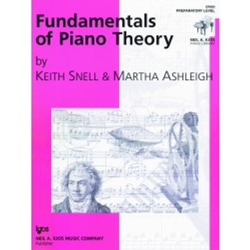 01.Fundamentals of Piano Theory, Prep Level