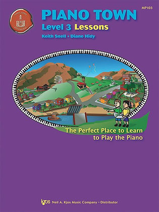 MP103 Piano Town Level 3 Lessons