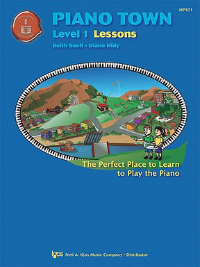 MP101 Piano Town Level 1 Lessons
