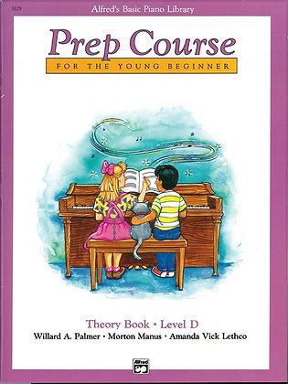 01.Alfred's Basic Piano Prep Course: Theory D