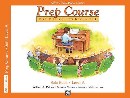 01.Alfred's Basic Piano Prep Course: Solo A