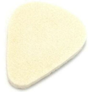 01._Dunlop 8011 Felt Pick, one each