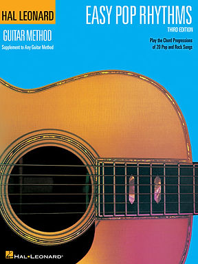 Hal Leonard Guitar Easy Pop Rhythms