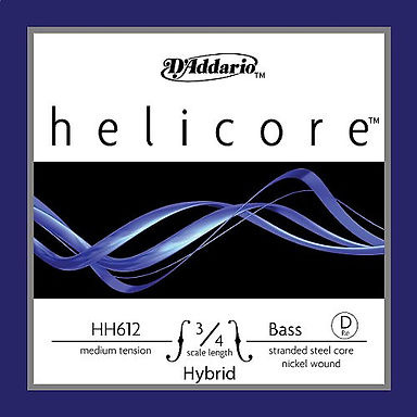 HH61234M Helicore Hybrid Bass D String