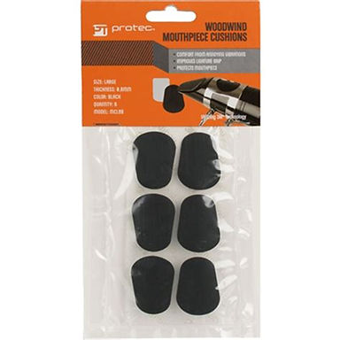 MCL8B 6-Pack ProTec Mouthpiece Cushions, LG 0.8mm