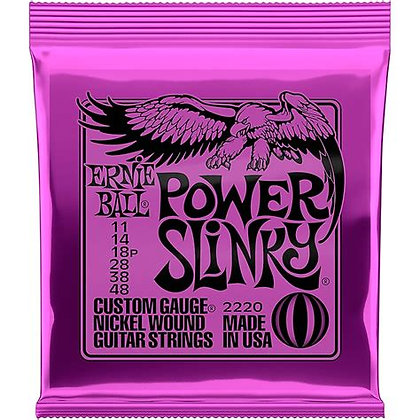 Ernie Ball Power Slinky 2220 Electric Guitar Strings set