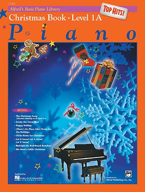 01.Alfred Basic Piano Library 1A Top Hits! Christmas
