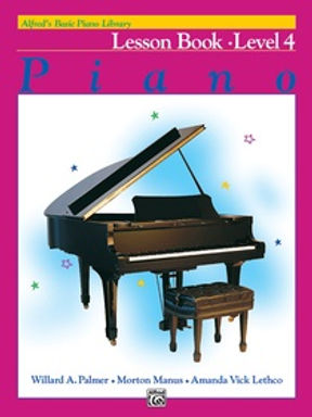 01.Alfred Basic Piano Library 4 Lesson