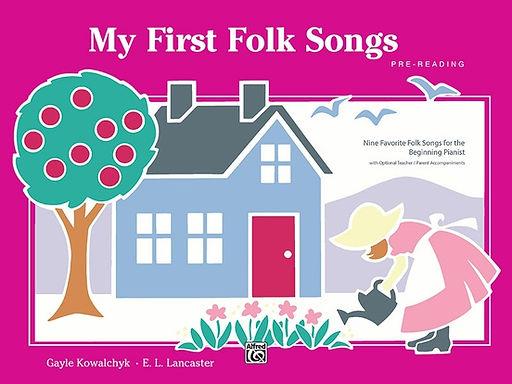 01.AlfredBPL My First Folk Songs