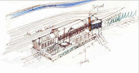 Gare Numérique du val de sambre I Jeumont I gare I architecture I arteo