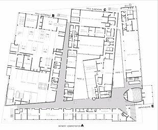 IMA I Institut des Métiers d l'Artisanat I CFA I Centre de Formation d'Apprentis I Arteo Architcture I Plan RDC I