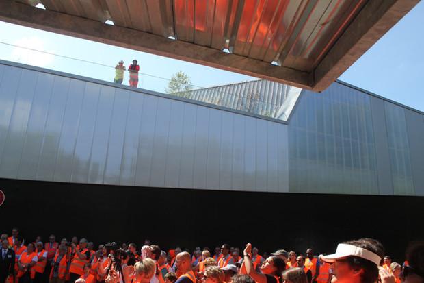 Inauguration du Centre de Tri du Sietrem