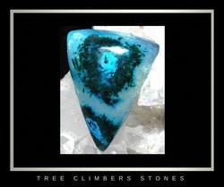 Gem Chrysocolla, Chatoyant Malachite, Ray Mine, Az_Sold