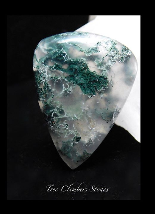 Moss Agate Cab