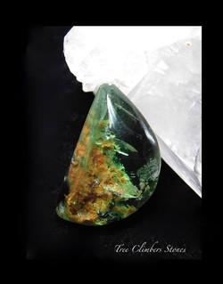 Green Fluorite Cab