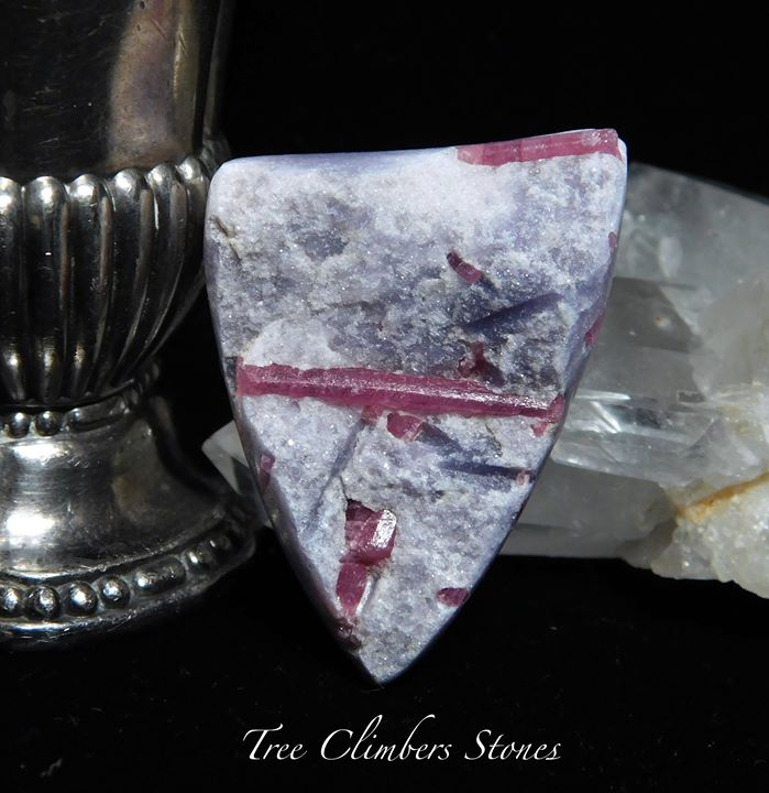 Lepidolite and Rubellite