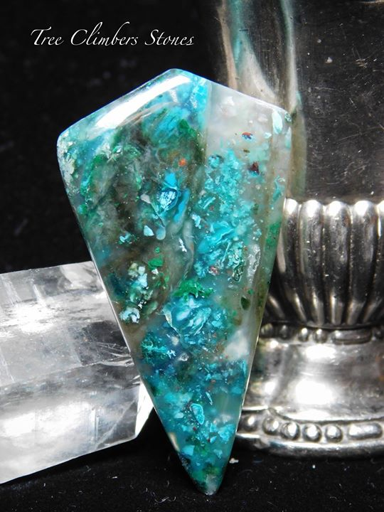 Gem Chrysocolla, Ray Mine, Az