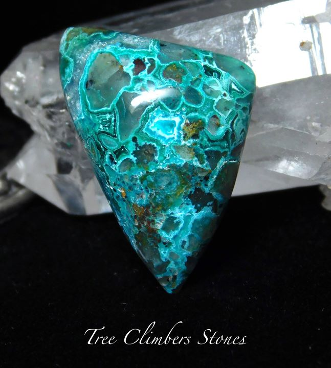 Gem Chrysocolla, Malachite, Matrix, Ray Mine, Az