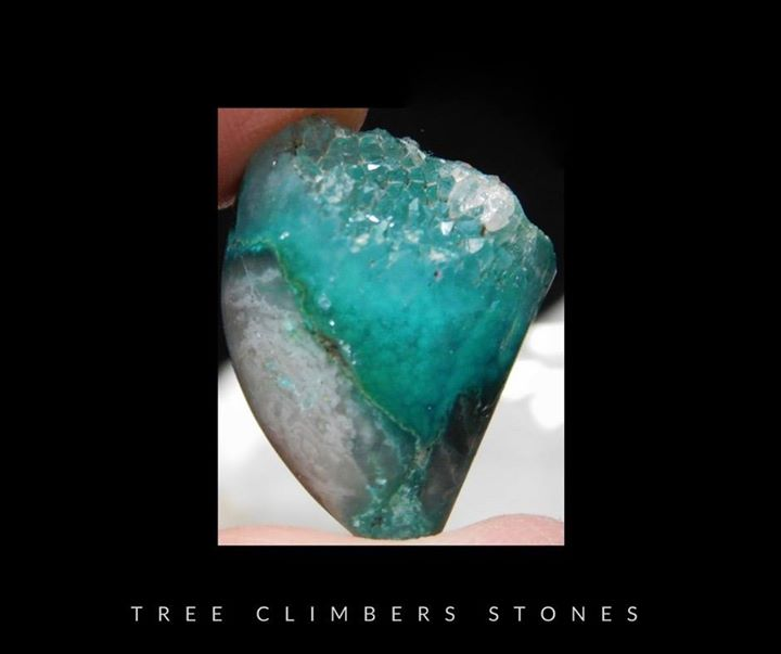 Gem chrysocolla Druze_SOLD