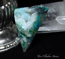 Gem Chrysocolla Druze, Ray Mine, Az