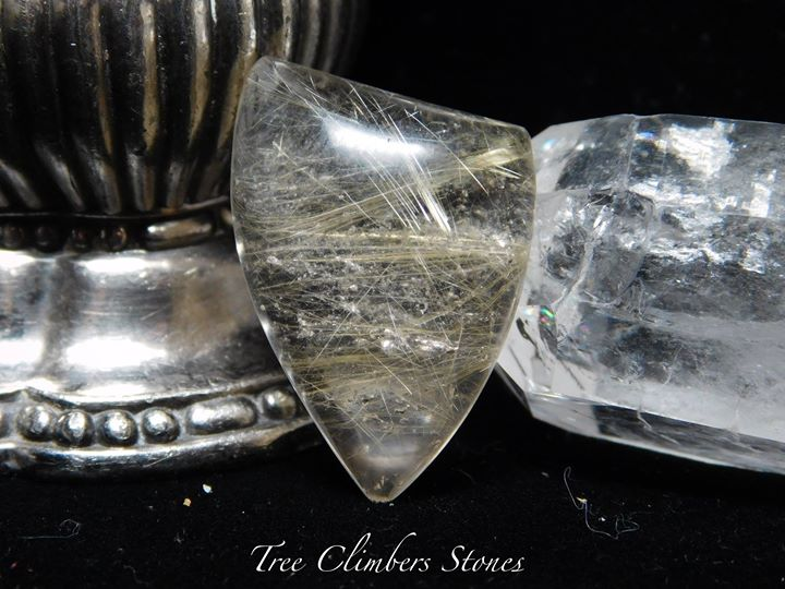Rutilated Quartz Cab