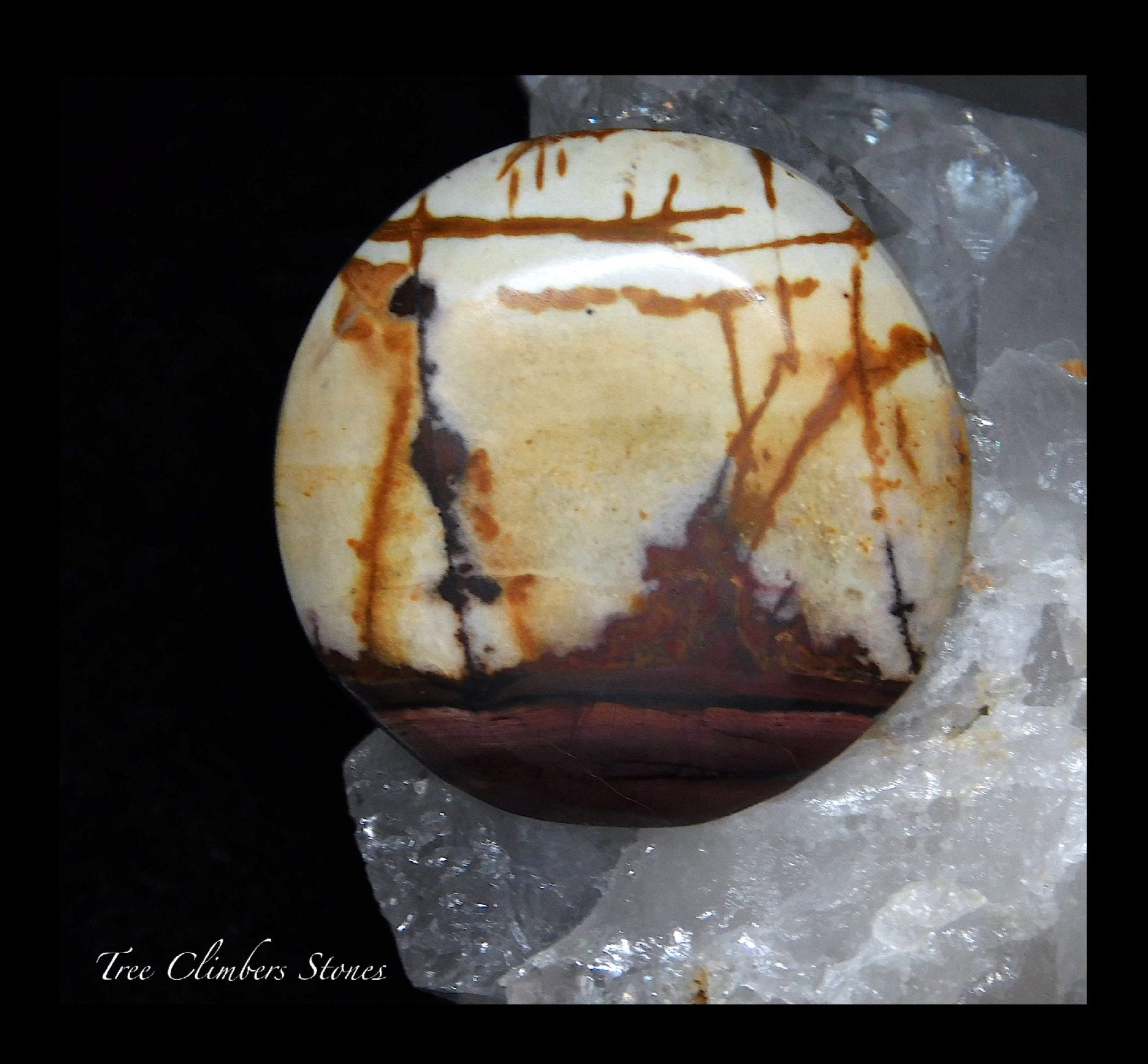 Cherry Creek Jasper Cabochon