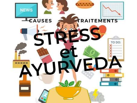 Le Stress et l'Ayurvéda