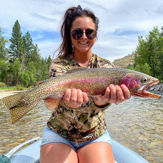 Bitterroot River Fly Fishing Cutthroat.j