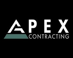 Apex Contracting Logo Portfolio