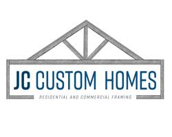 JC Custom Homes Logo Portfolio