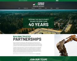 Parker Pacific Website Portfolio