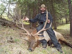 Bull Elk Hunt near Missoula MT