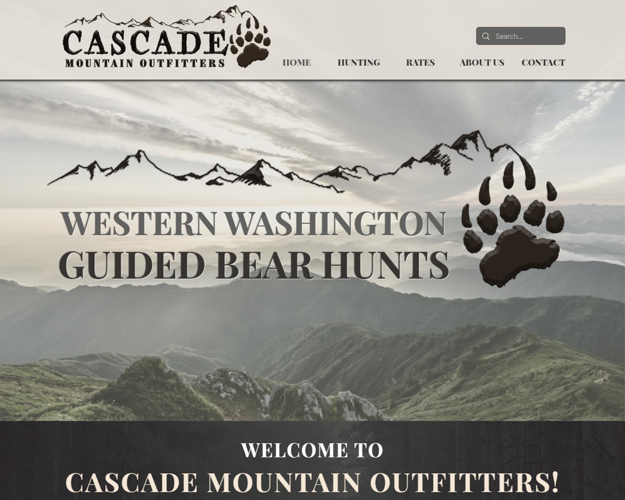 Cascade Mountain Website Design