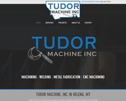 Tudor Machine Website Portfolio