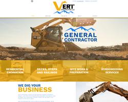 Vert Contracting Website Portfolio New