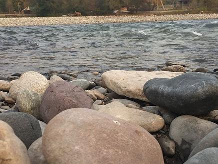 База отдыха Ковчег у реки Адыгея