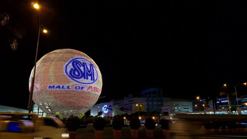 필리핀여행지 몰오브아시아 MALL OF ASIA 파사이 주요관광지 마닐라 관광코스