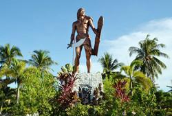 세부여행지 막탄 섬의 추장 라푸라푸의 동상 유적지관광 추천여행지