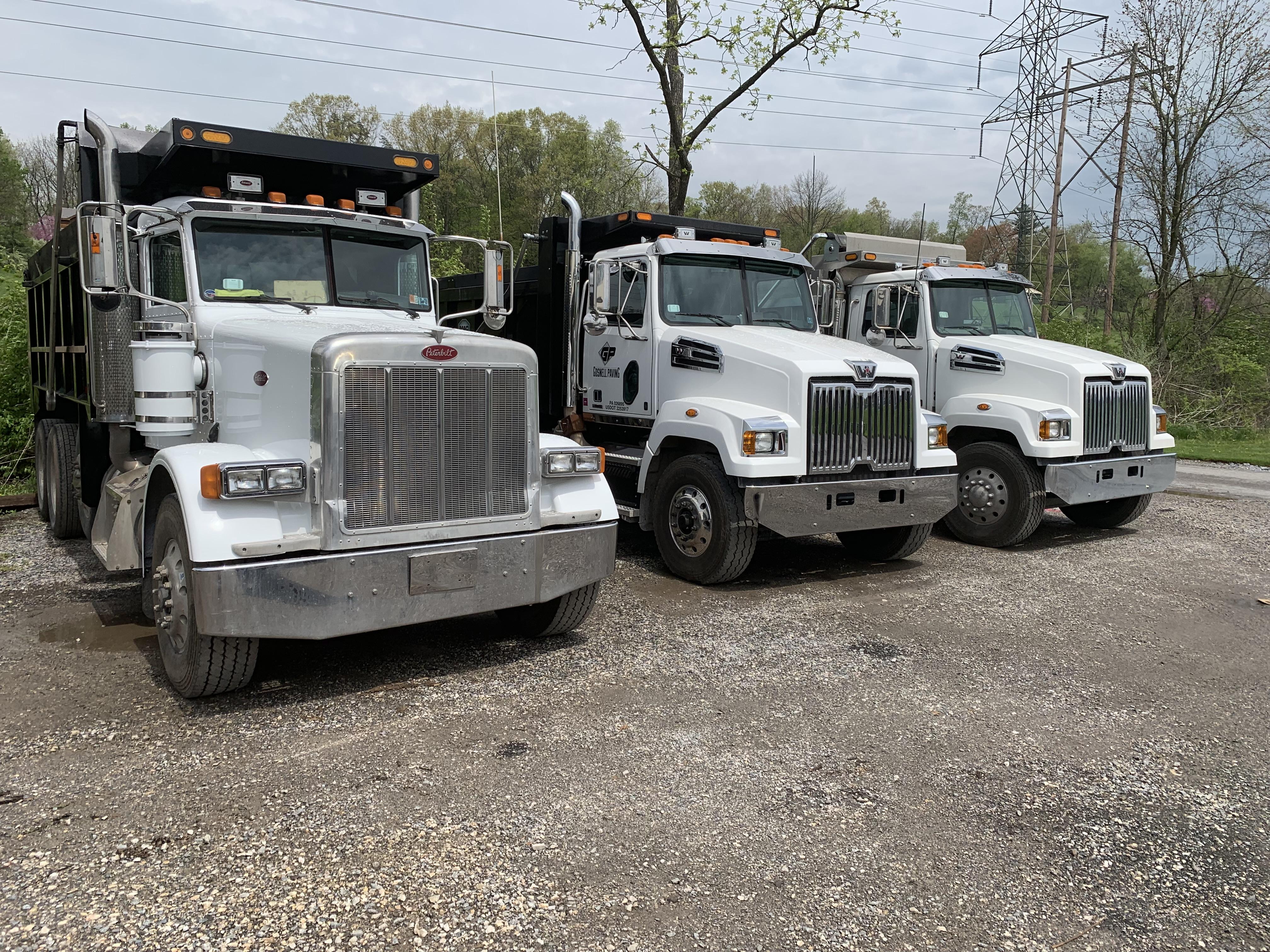 Paving Trucks