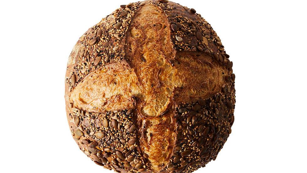Multi Seed Sourdough (800g, Unsliced)