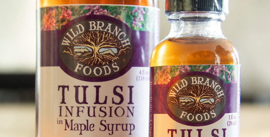 TULSI INFUSED MAPLE SYRUP
