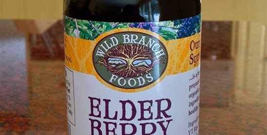 Elderberry Syrup 8 fl oz.