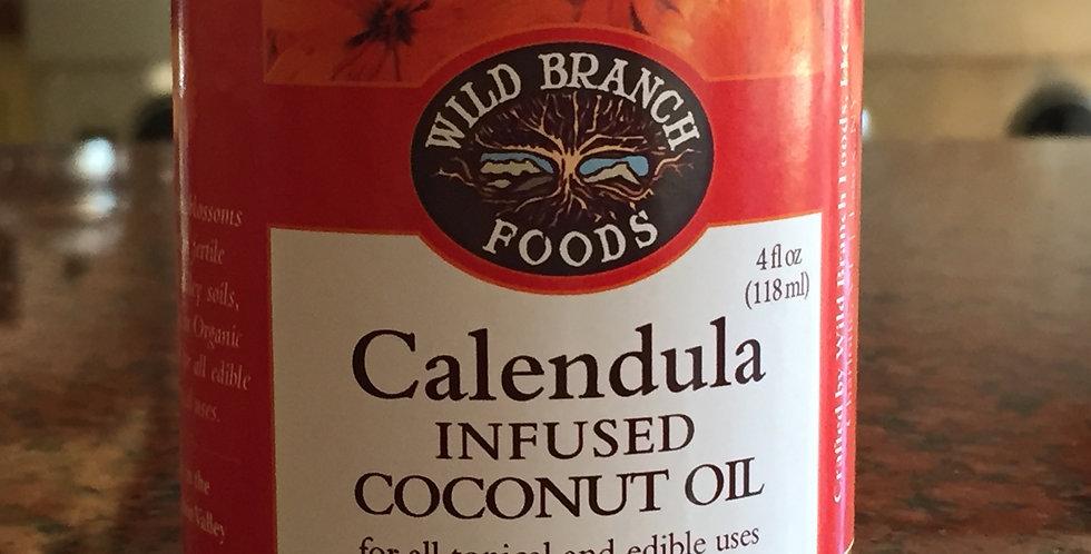 Calendula Infused Coconut Oil