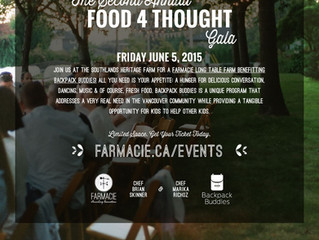 The Second Annual Food 4 Thought Gala June 5