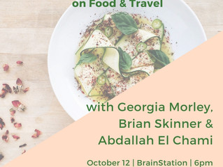 Wanderlust Series with Georgia Morley, Brian Skinner & Dallah El Chami Oct 12