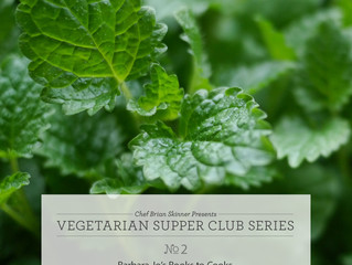 Winter Supper Club Series No.2 January 11th 2015
