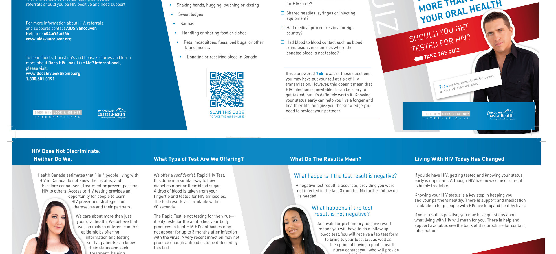 Be the Change Group Inc. Vancouver Coastal Health Brochure