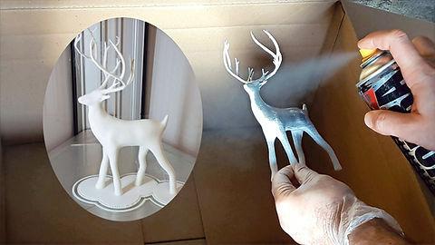 Bedaya  Painting of 3D Model