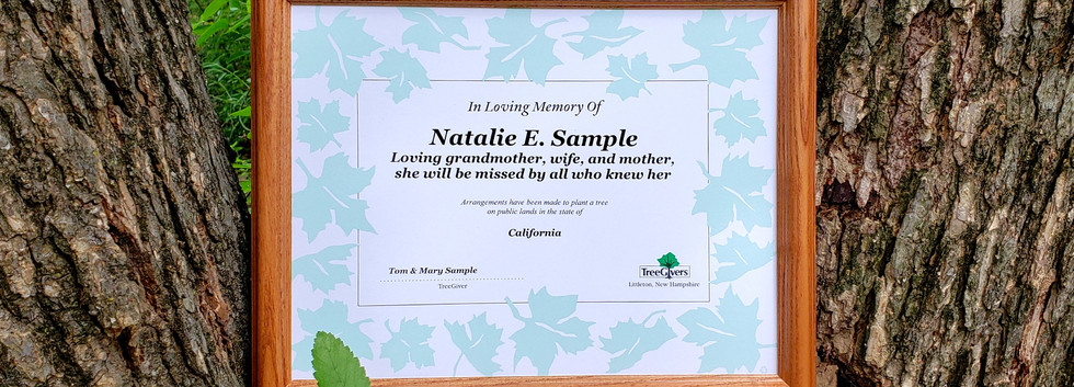Upgrade your personalized memorial